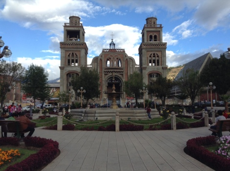 The main plaza and church!
