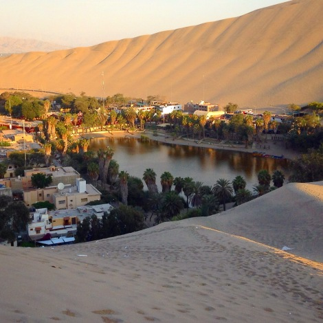 The Huacachina Oasis - so neat!