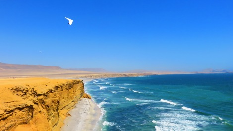 Amazing coastline near Ica, Peru...