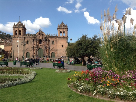 One of the churches in the main plaza!